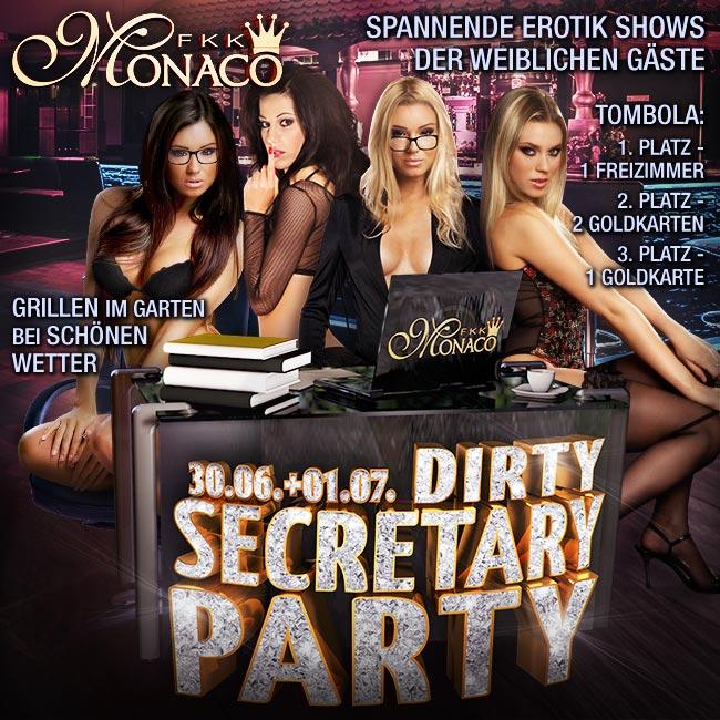 30.06. + 01.07.2017: DIRTY SECRETARY PARTY