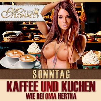 Sonntag: Kaffee und Kuchen